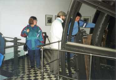 Von links: D. Fischer-Niess, H. Forbert, V. Kleinschmidt
