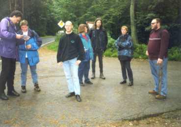 Von links: B. Meyer, K. Fink, D. Boese, D. Fischer-Niess, H. Langer, S. Kohlpoth, A. Kohlmeyer