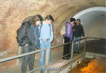 Von links: H. Langer, V. Kleinschmidt, B. Meyer, E. Schreiner, N. Doltsinis
