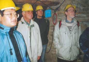 Von links: W. Liu, W. Kutzelnigg, N. Doltsinis, V. Staemmler